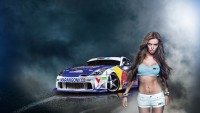 Wallpapers Car Girl Pixel Wallpaper 1080p
