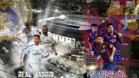 Real Madrid Vs FC Barcelona 2015 Liga BBVA HD Wallpaper