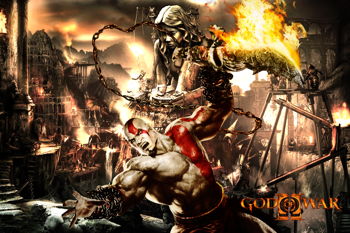 God of War 3 Wallpaper God of War 3 Wallpapers