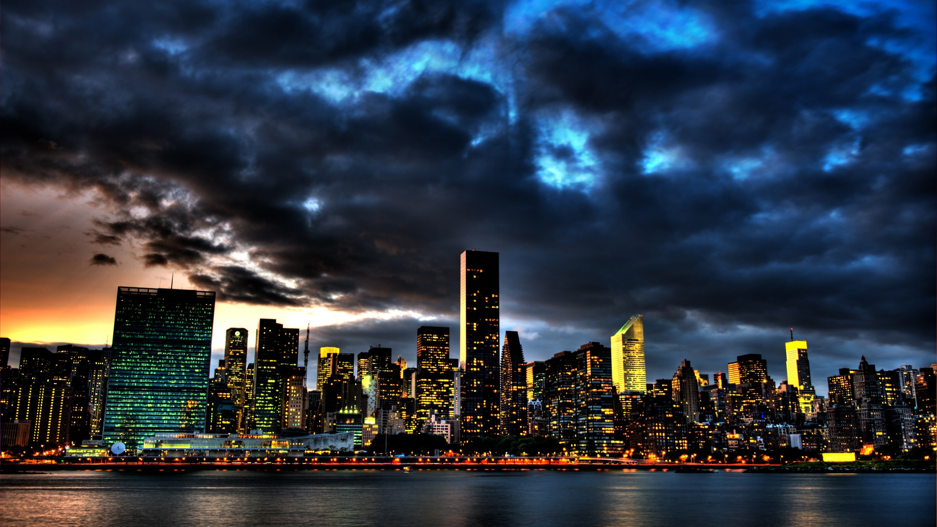 new york city skyline 1080p wallpaper city hd wallpapers wide screen wallpaper 1080p 2k 4k. Black Bedroom Furniture Sets. Home Design Ideas
