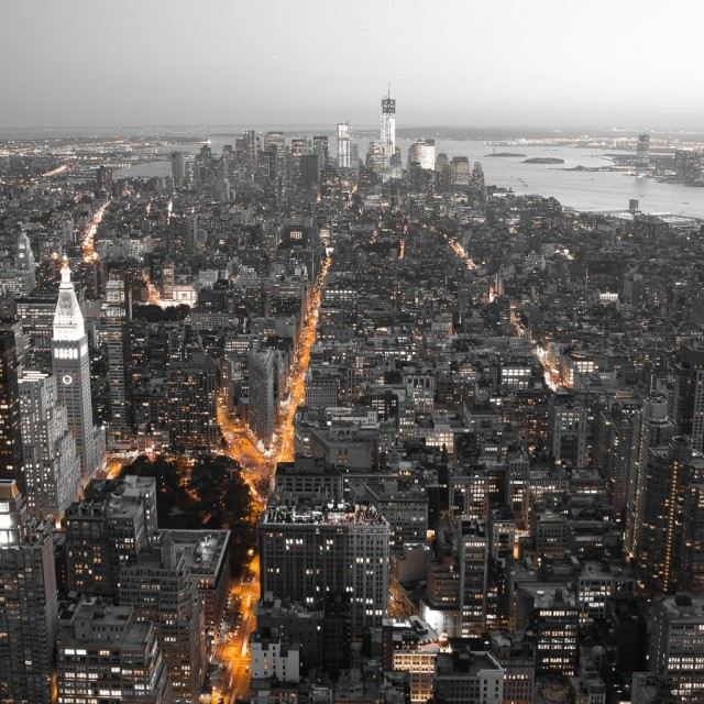 New York City Overview 4k Wallpaper Image And Save Image
