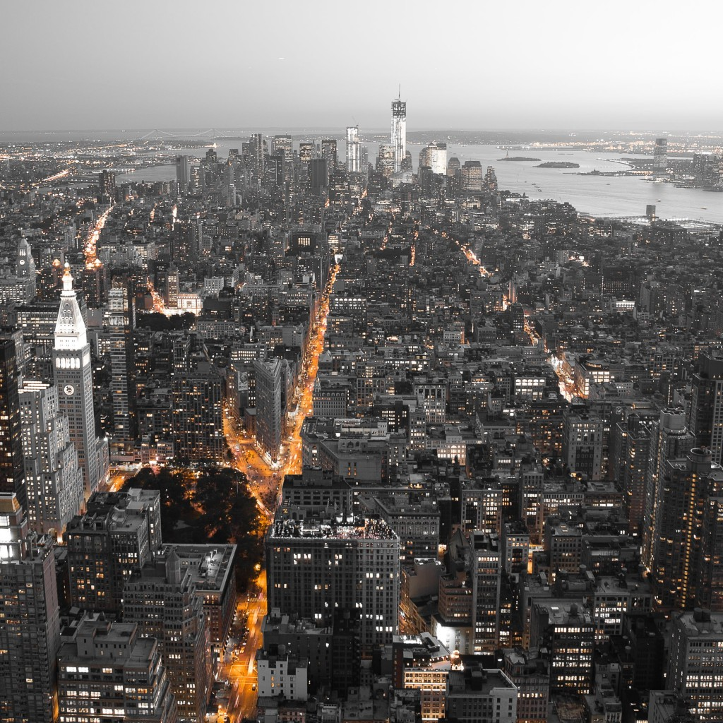 New York City Overview 4K Wallpaper Image And Save As
