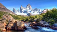 Mountains And River Wallpaper Background Hd 1080P