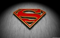 Super Man Logo HD Wallpaper