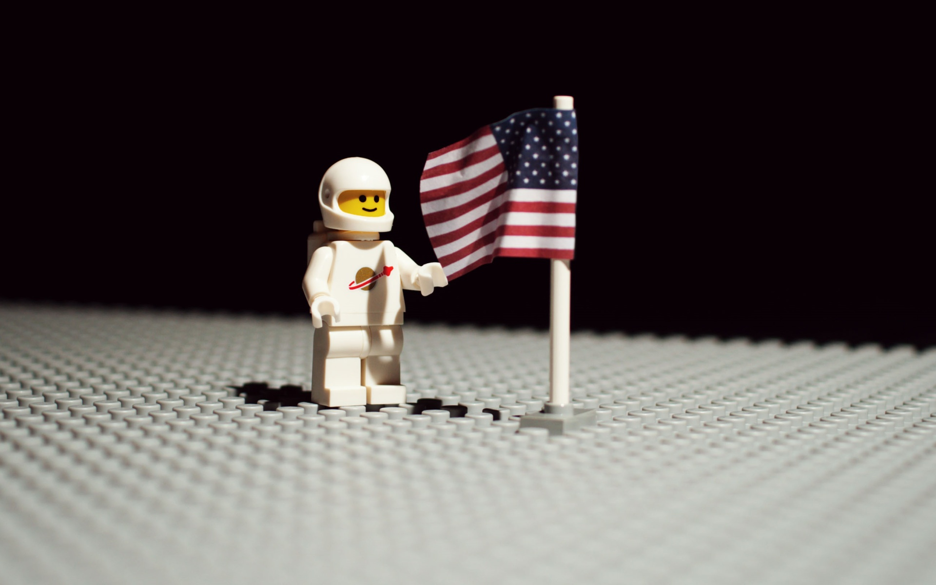 Lego Moon Wallpaper
