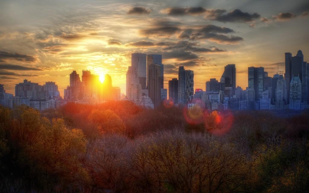 New York City Sunrise Wallpaper 4k Wide Screen Wallpaper 1080p 2k 4k