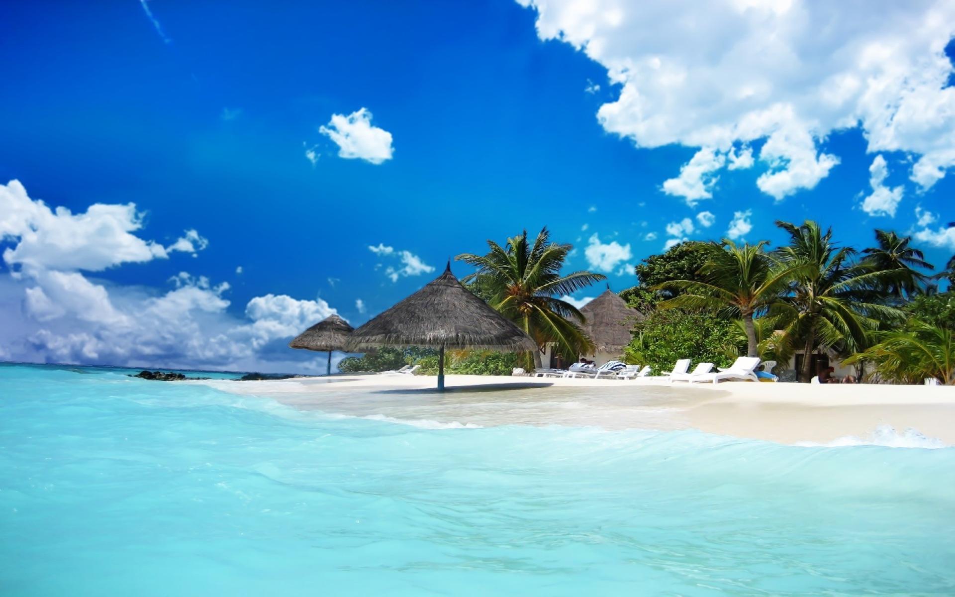 Maldives Beach 4K Wallpapers | Wide Screen Wallpaper 1080p ...