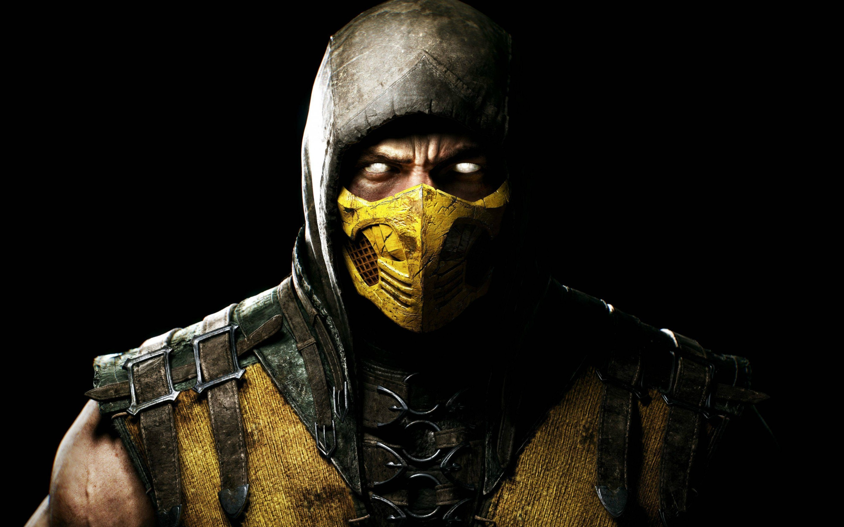 Scorpion in Mortal Kombat X Wallpaper