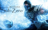 Sub Zero Mortal Kombat Desktop Wallpaper