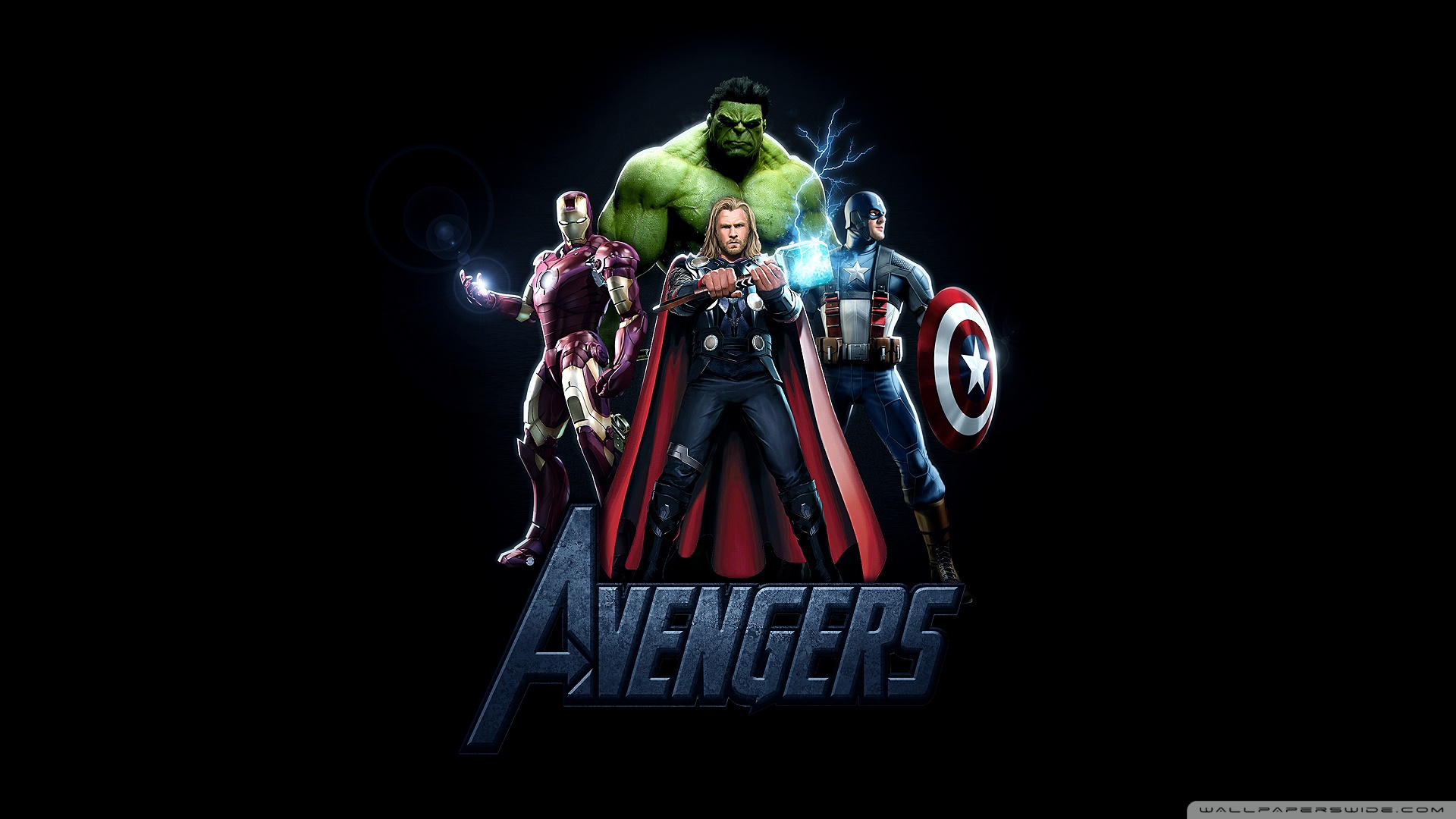 The Avengers Movie 2012 HD desktop wallpaper