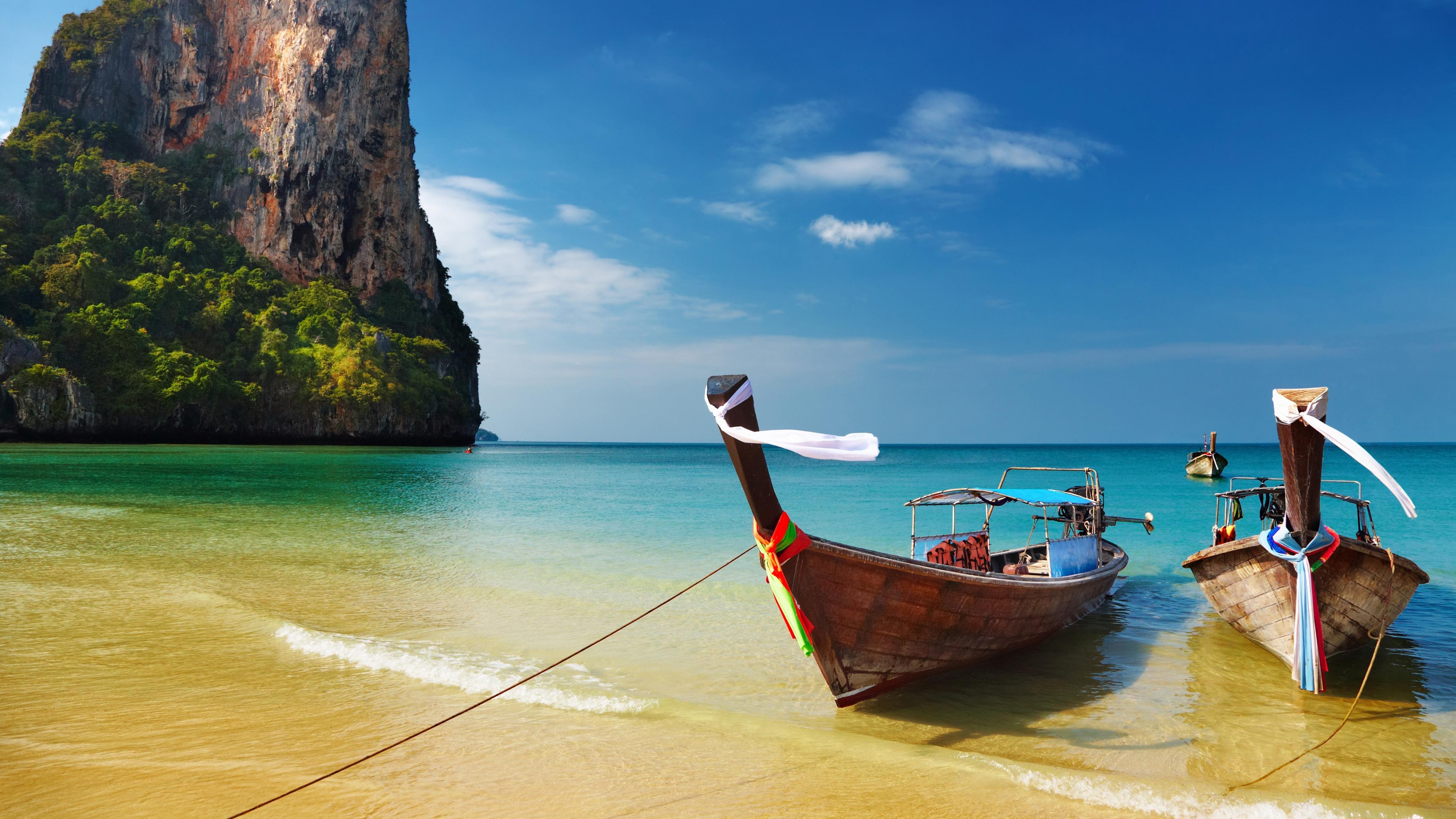 Tropical beach Thailand Ultra HD wallpaper