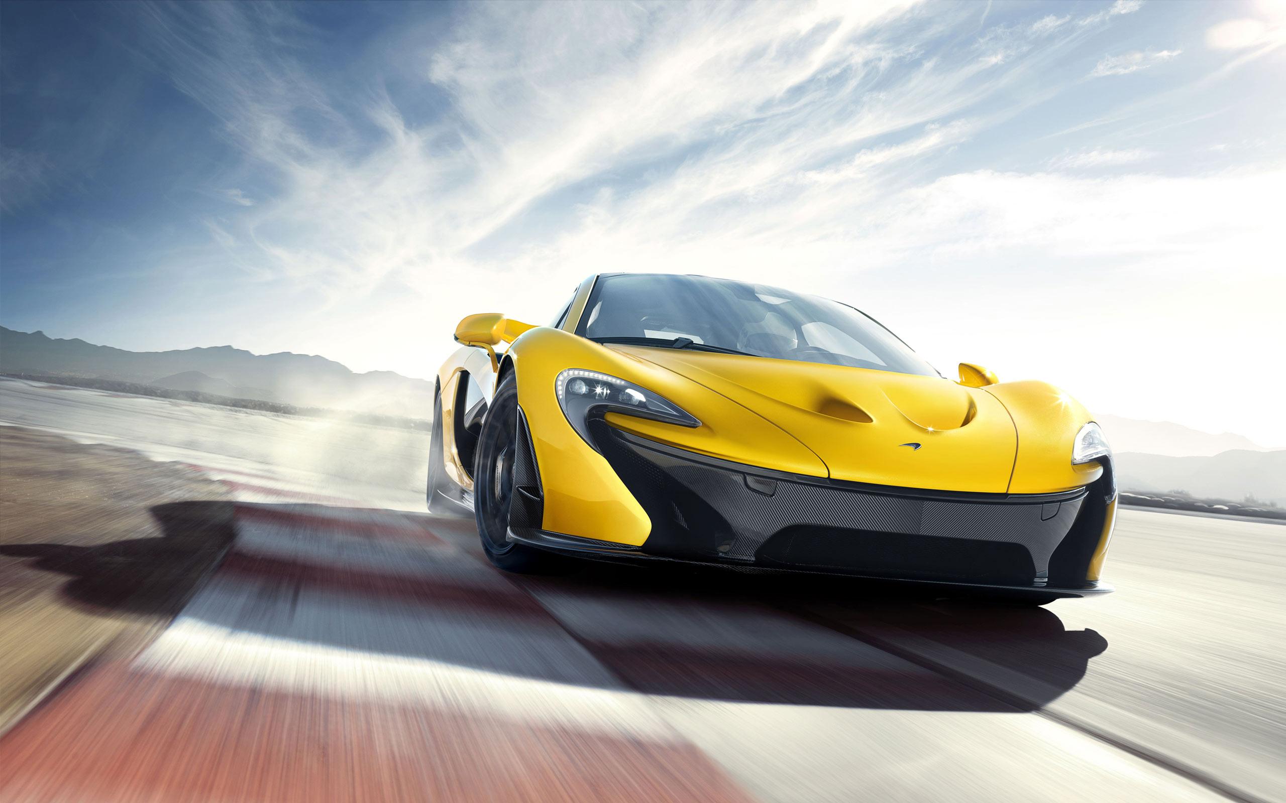 McLaren P1 Hypercar Drifting Wallpaper - HD
