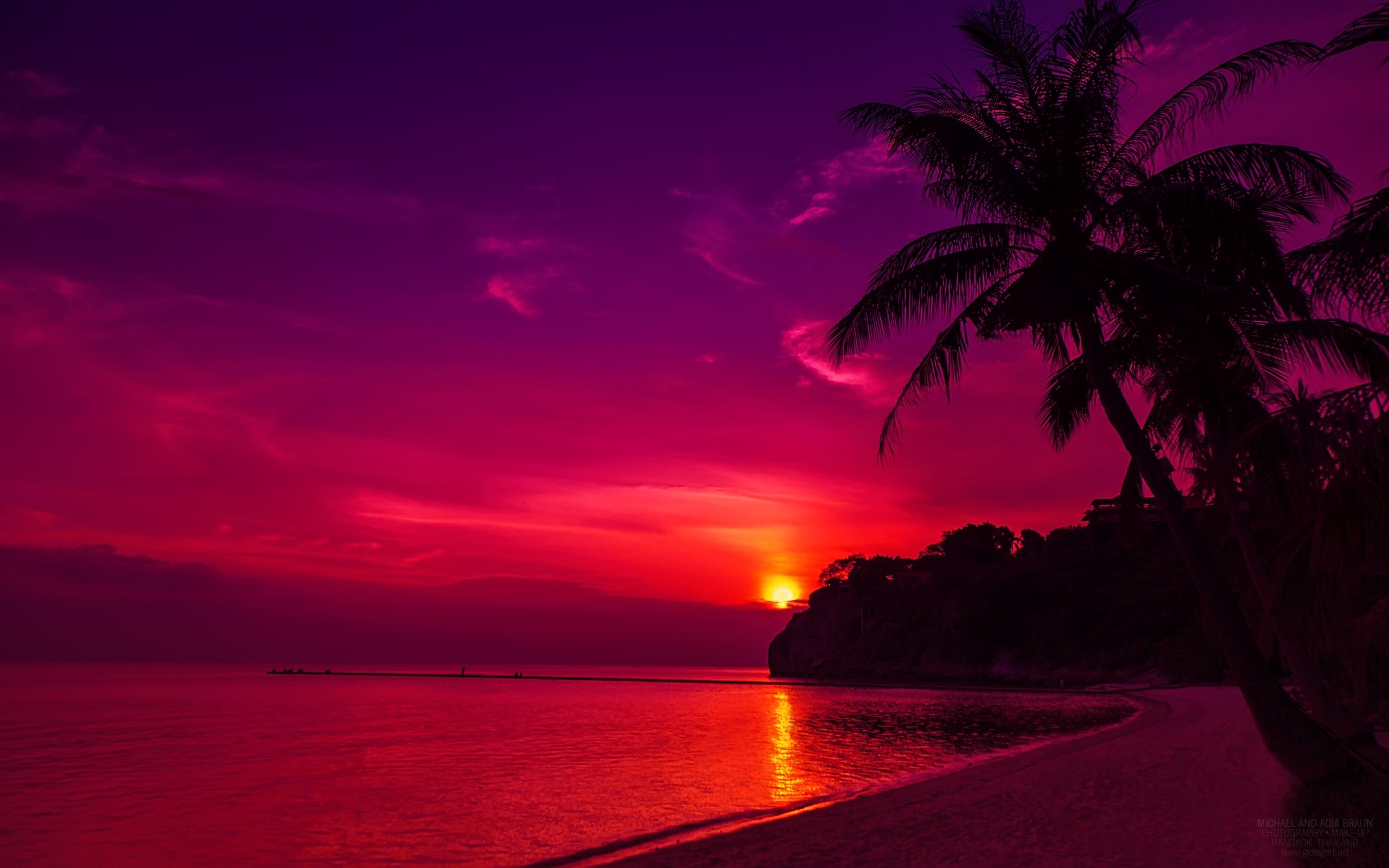 Beautiful Sunset HD Wallpaper