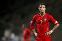 Cristiano Ronaldo in Red