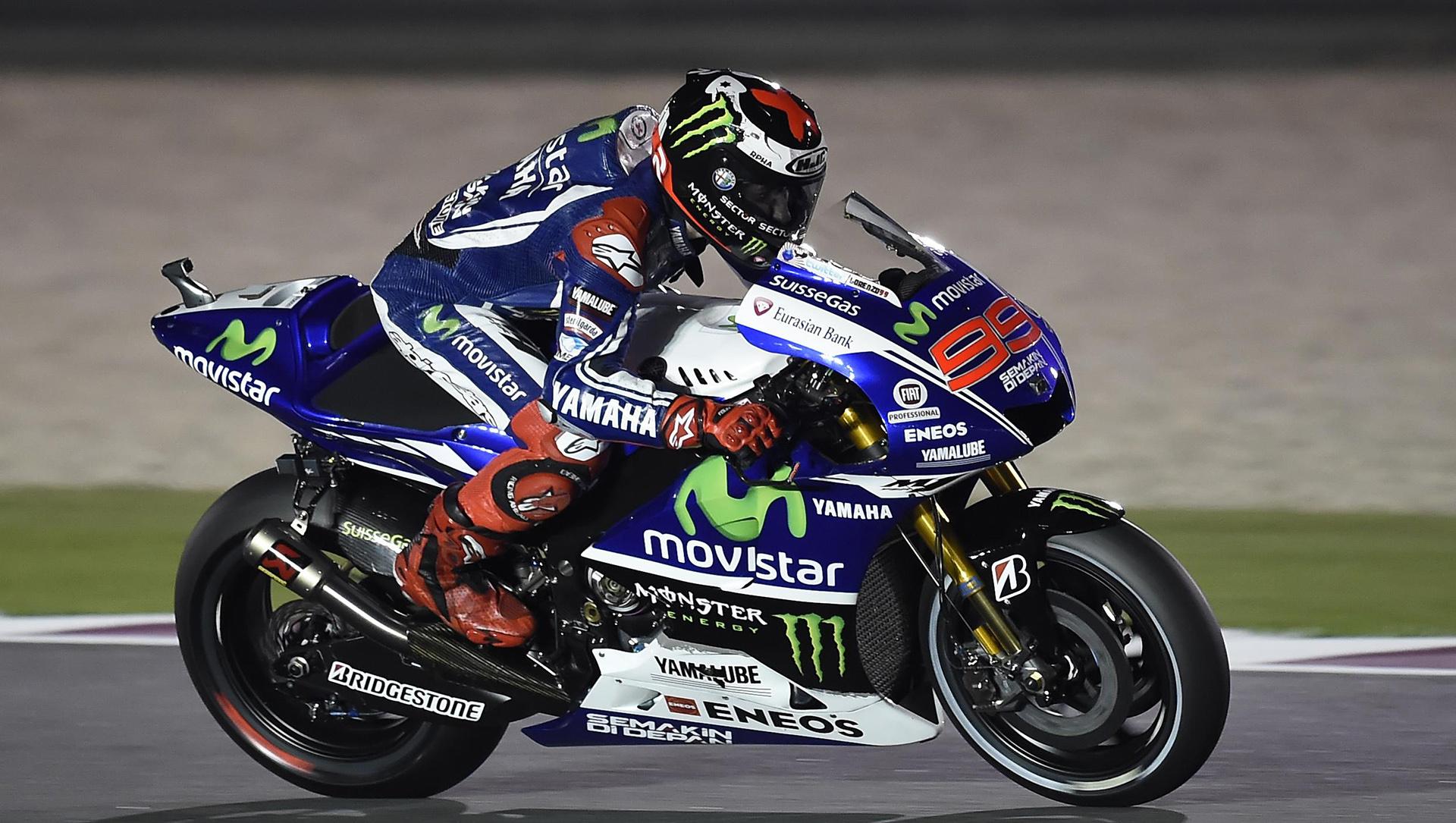 Jorge Lorenzo Movistar Yamaha 2014 MotoGP   Wide Screen Wallpaper 1080p,2K,4K