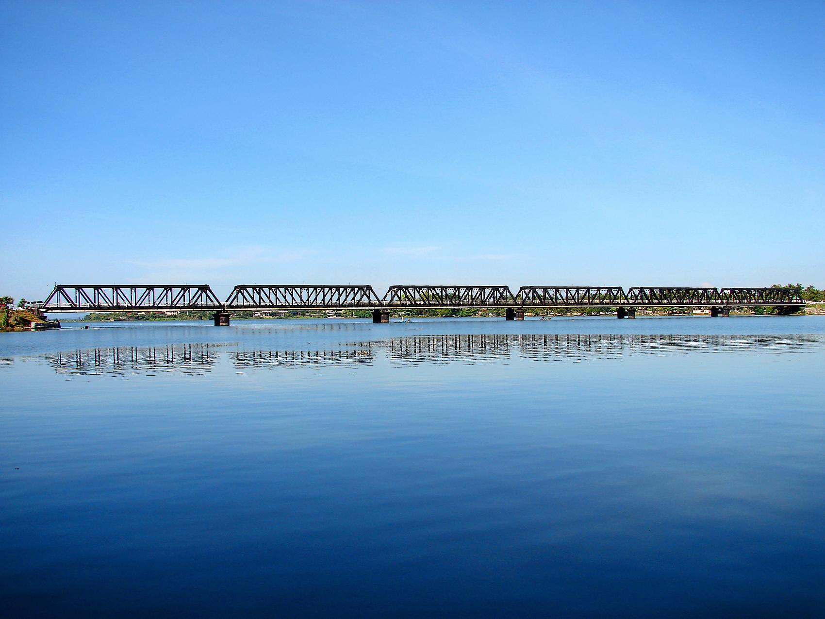 Kallady Bridge Batticaloa Wallpaper