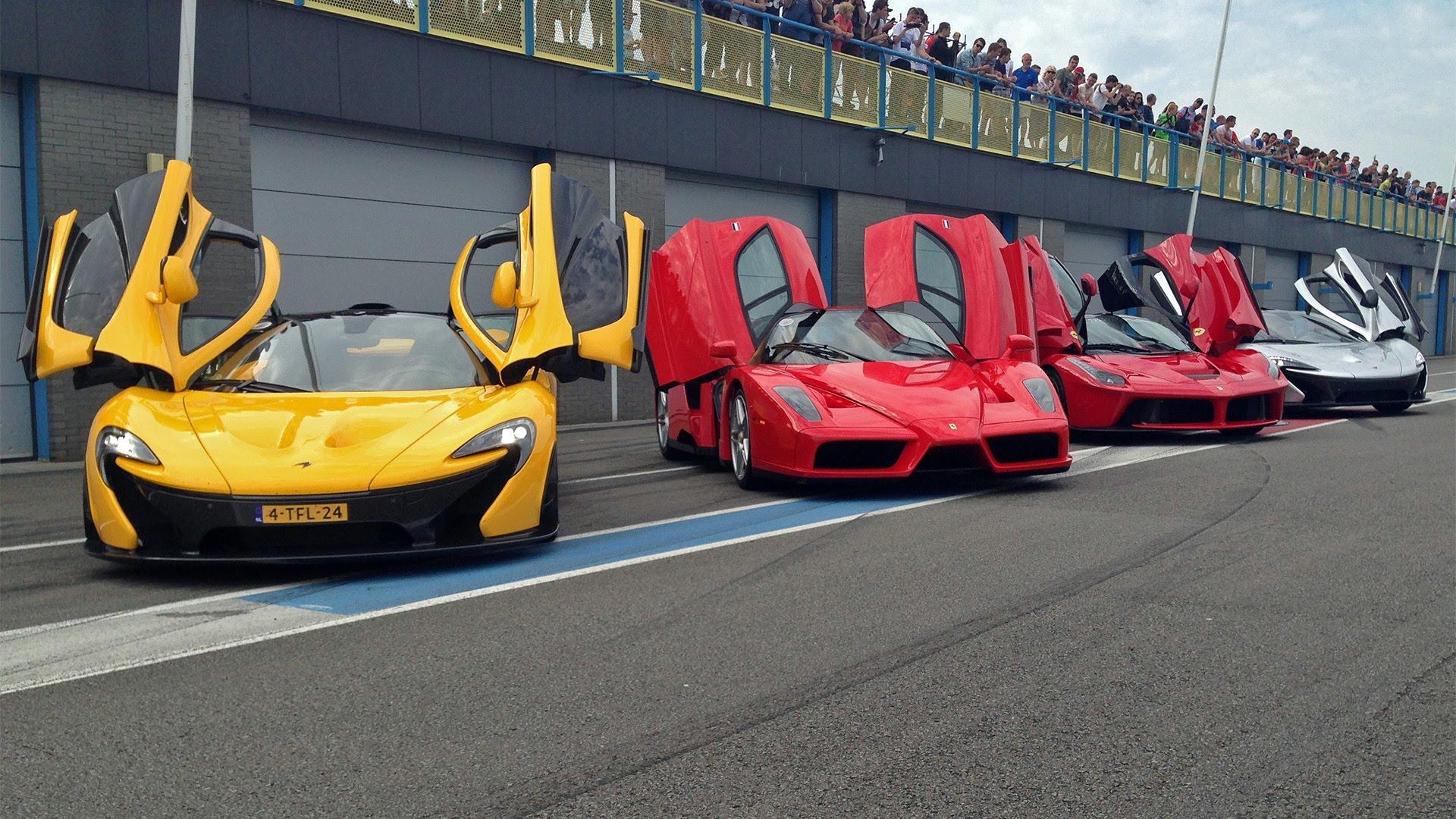 INSANE Hypercar Line-up: P1, LaFerrari, 918 Spyder, Enzo, Carrera