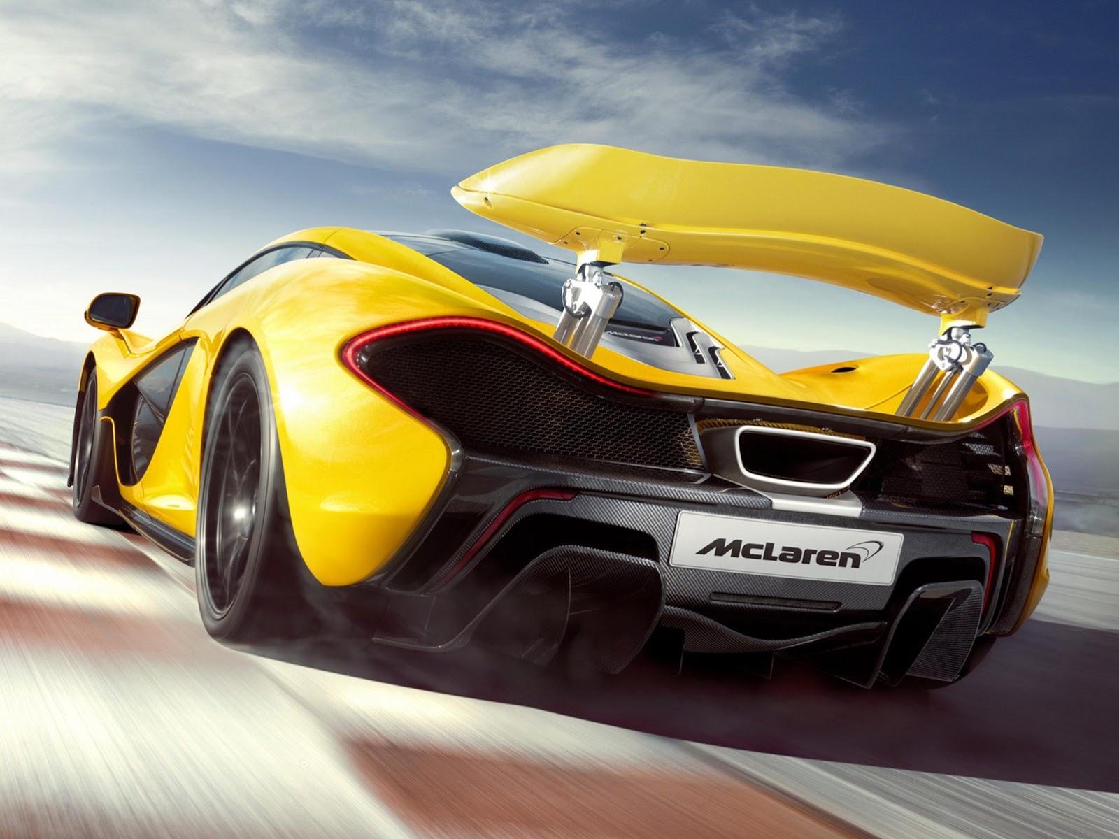 McLaren P1 Hypercar HD Wallpaper
