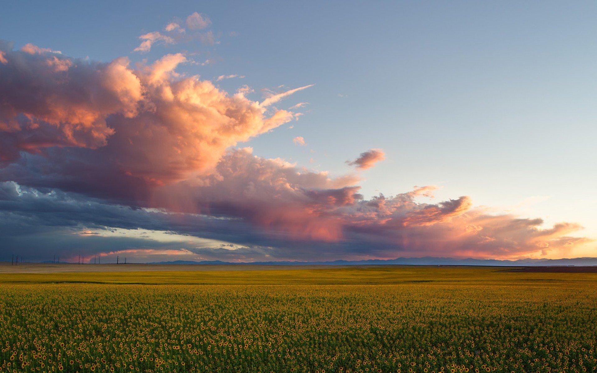 Nature cloud sunset ultrahd 4k   Wide Screen Wallpaper 1080p,2K,4K
