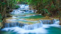 Waterfall kanchanaburi 4k Ultra HD Wallpapers