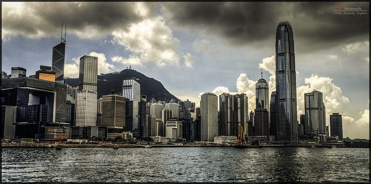 Hong Kong skyline (day)