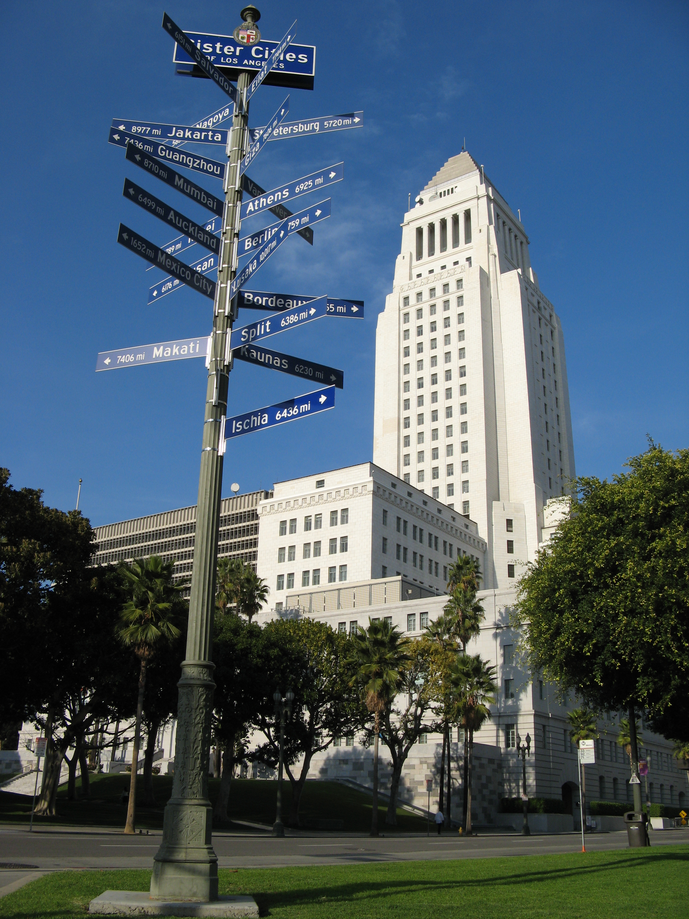 Los Angeles City Hall, Wallpaper