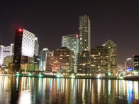 Miami Skyline by fluffygrimace