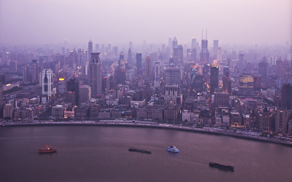 shanghai puxi skyline wide screen wallpaper 1080p2k4k