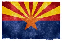Arizona Grunge Flag HD Wallpaper