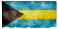 Bahamas Grunge Flag HD Wallpaper