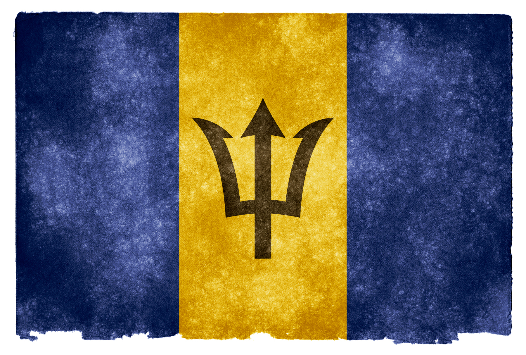 Barbados Flag Hd Wallpaper