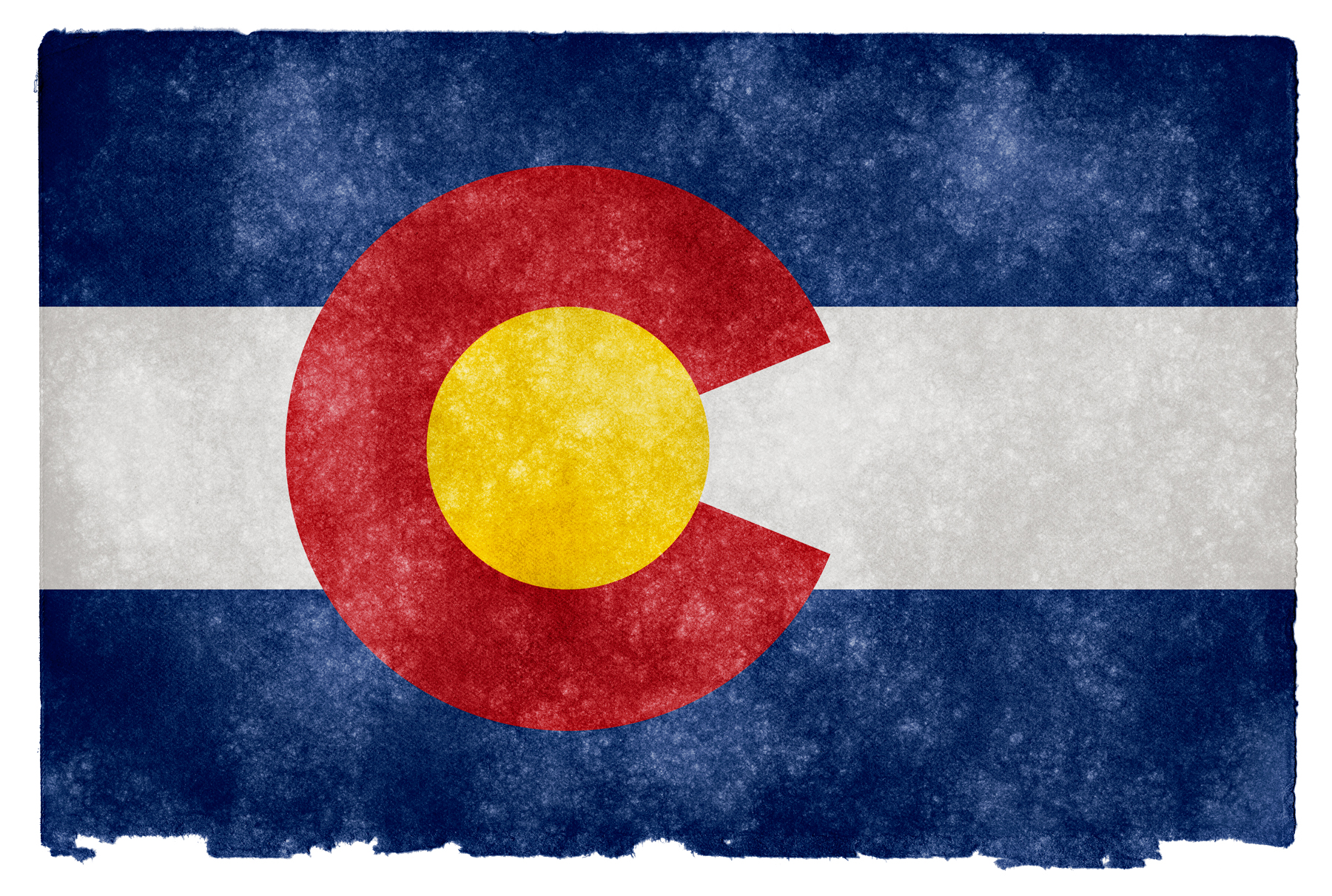 Colorado Grunge Flag HD Wallpaper