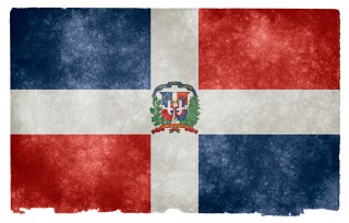 Dominican Republic Grunge Flag HD Wallpaper