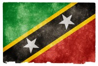 Saint Kitts and Nevis Grunge Flag HD Wallpaper