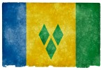 Saint Vincent and the Grenadines Grunge Flag HD Wallpaper