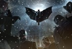 Batman: Arkham Origins – Batman Jumps Thugs 2k Wallpaper