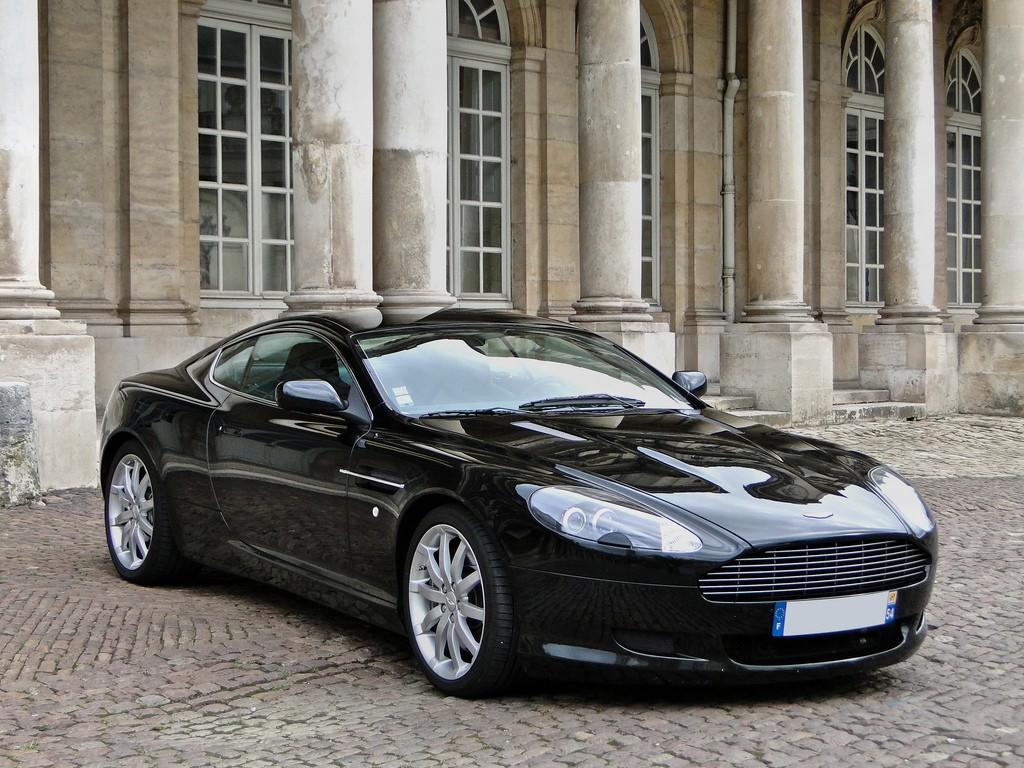 Aston Martin DB9 Black HD Wallpaper | Wide Screen ...