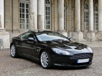 Aston Martin DB9 Black HD Wallpaper