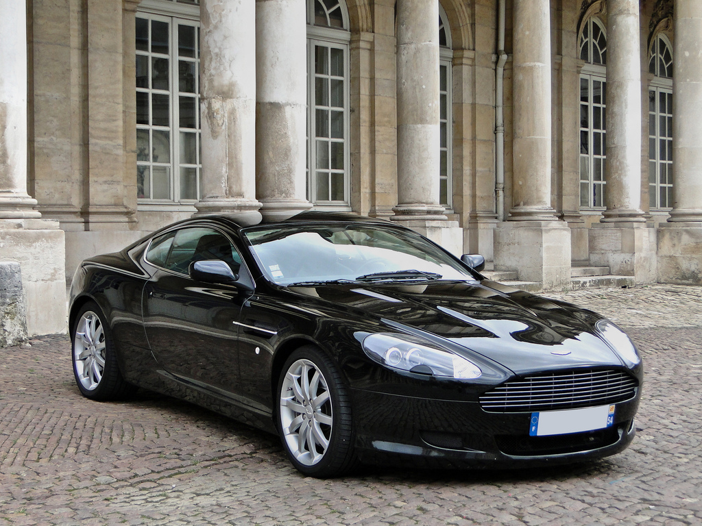 Aston Martin Db9 Black Hd Wallpaper Wide Screen Wallpaper 1080p 2k 4k