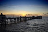 Blackpool North Pier Sunset 4K Wallpaper