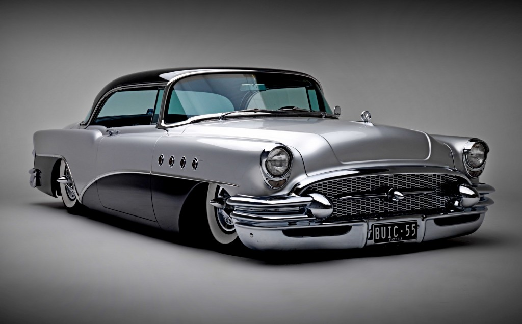 Classic Cars Beauty And Muscle 55 Buick 4k Wallpaper Wide Screen