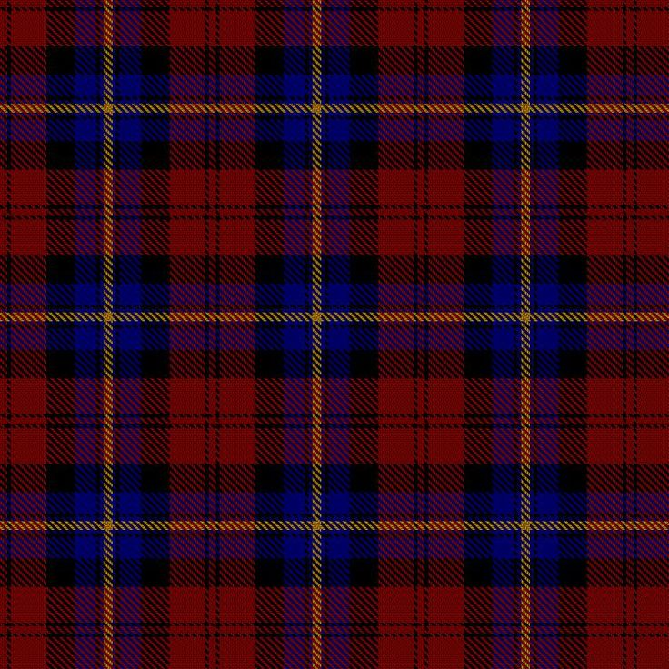 The 'Aitken' Clan Tartan Pattern Wallpaper