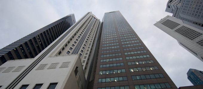 Buildings In Business District