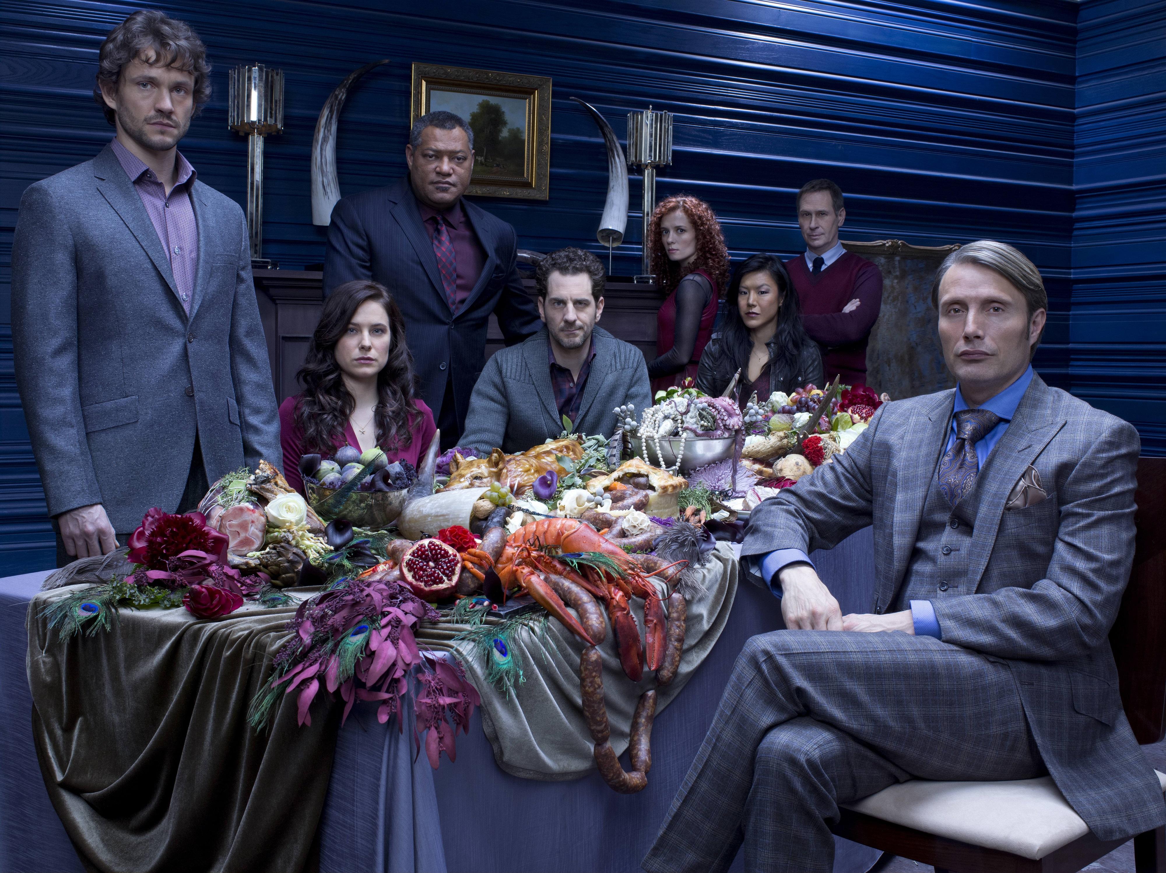 Hannibal TV Series - Cast