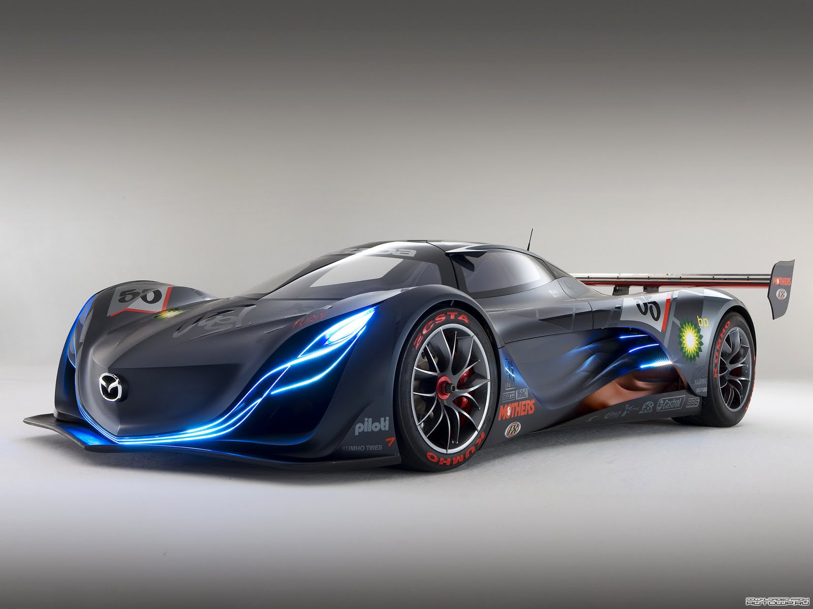 Mazda Furai Concept Hd Wallpaper Wide Screen Wallpaper 1080p 2k 4k