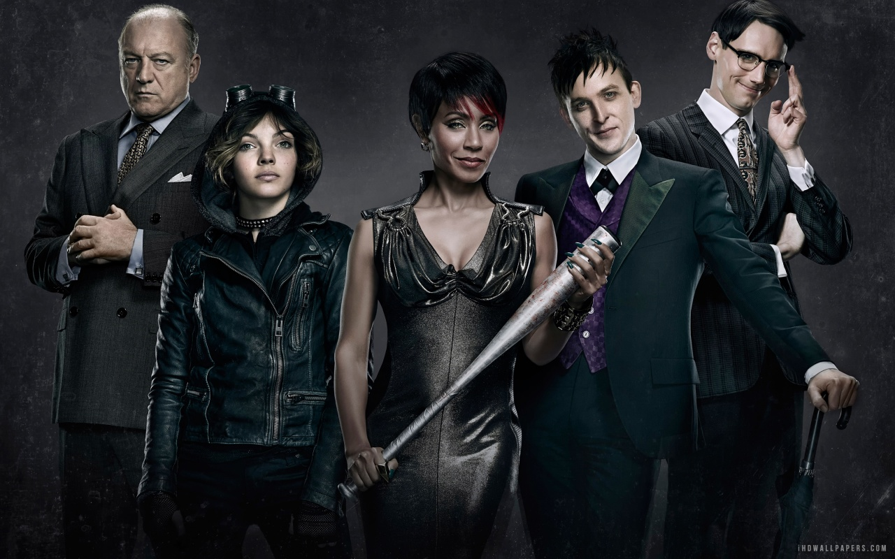 Gotham TV Series Cast 2014 HD Wallpaper