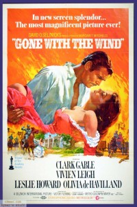 Gone With The Wind classic movie poster