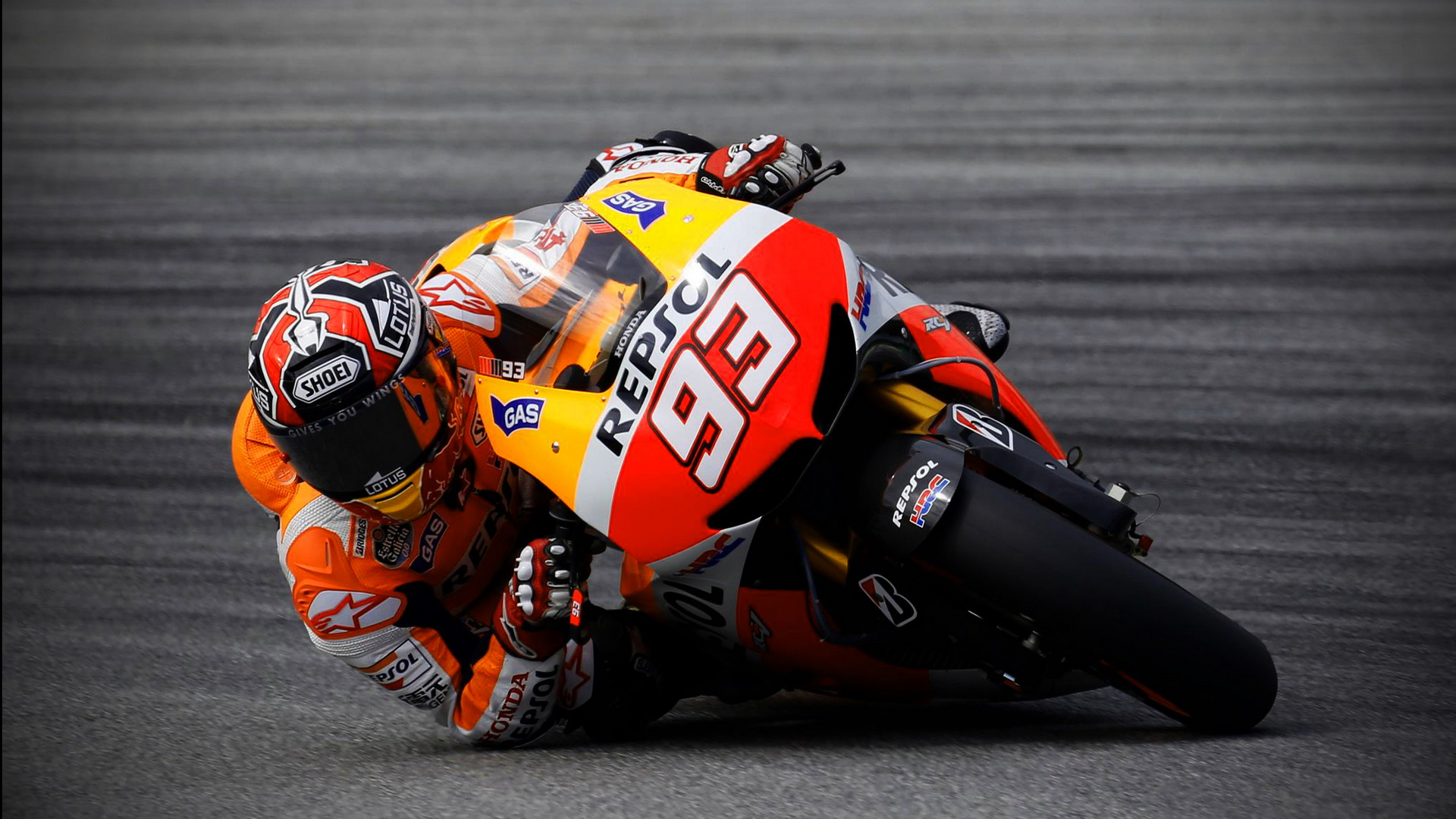 Marc Marquez MotoGP Wallpaper | Wide Screen Wallpaper ...