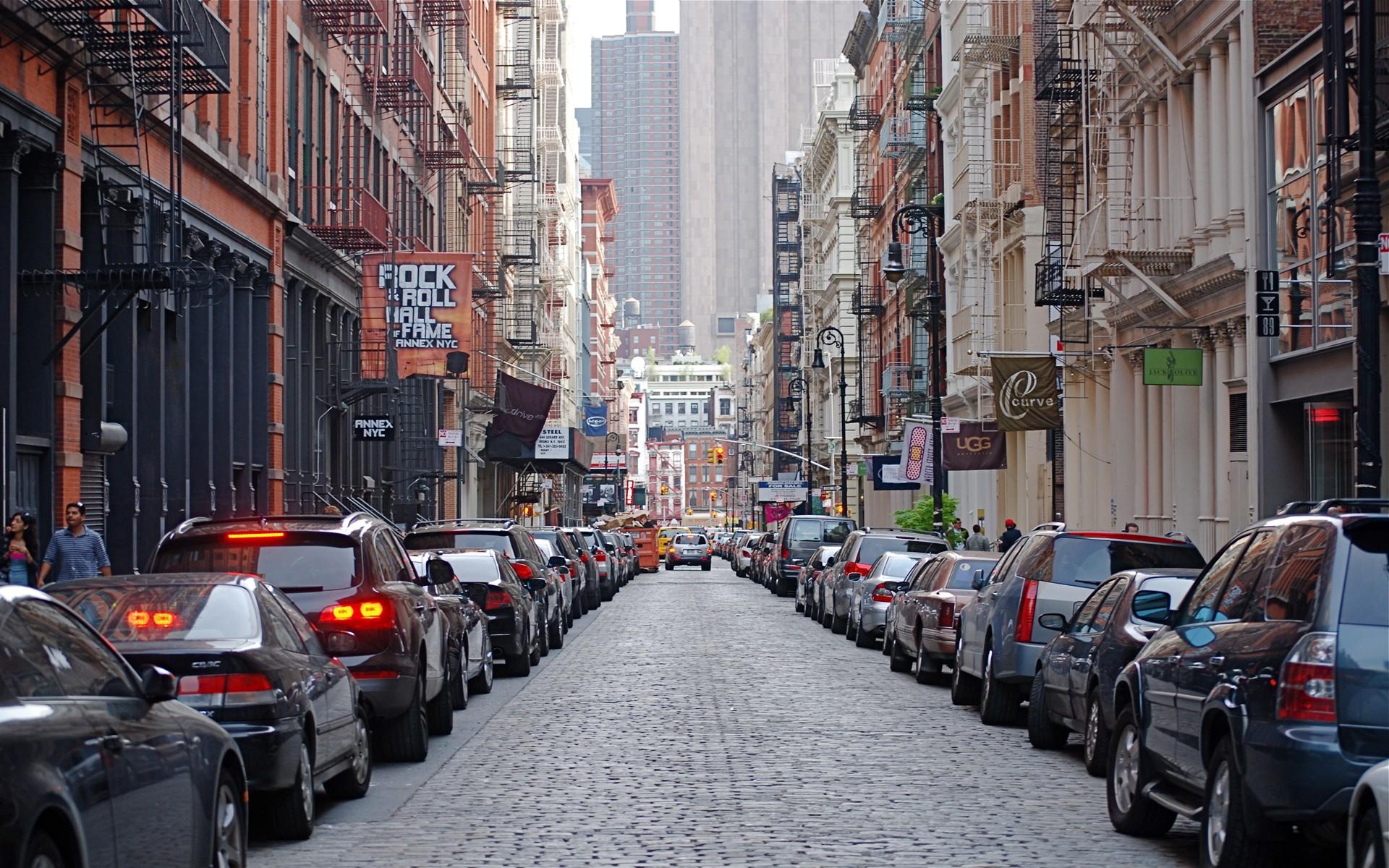 Street New York 345 Wallpaper
