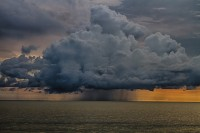 Storm Clouds Gulf of Mexico Wallpaper